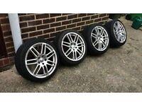 """Audi 18"""" Genuine S Line Alloys & Tyres"""