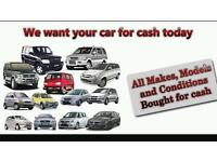 Cars wanted today regardless of condition