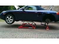 Classic car Tilting mini lifter. 3 width settings