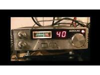 Audioline 340 cb radio 80ch with echo mic