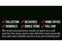 Man with van service Low cost and same day service