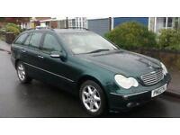 02 Mercedes c270 CDI auto estate