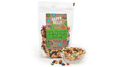 Happy Belly Nuts, Chocolate & Dried Fruit Trail Mix, 48 oz free shipping! Happy Trails Trail Mix