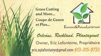 Laborer, Journalier, Grass Cutting, 15$ / hours Rockland