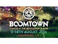 2 Boomtown fair tickets for sale