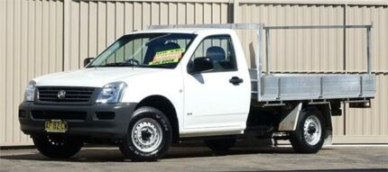 2005 Holden Rodeo RA MY05.5 Upgrade DX White 5 Speed Manual Cab Chassis Lismore Lismore Area Preview
