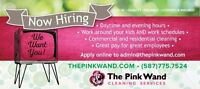 Hiring two part positions based out of Airdrie