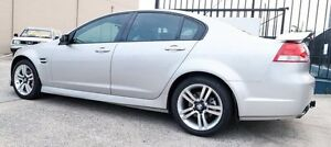 2007 Holden Commodore VE LOW KLMS SV6 Silver 5 Speed Automatic Sedan Underwood Logan Area Preview
