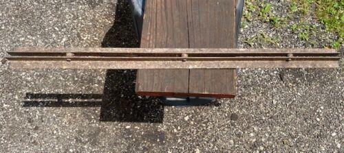 Antique Hay Trolley Rail Track 3 Feet