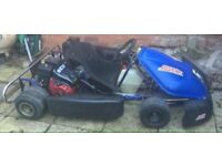 GO CART TWIN 400 CC HONDA ENGINES (READY COMPLETE) BARGAIN MUST SEE LOOK !!!