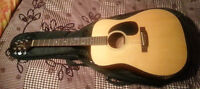 Takamine EF340 acoustic/electric guitar