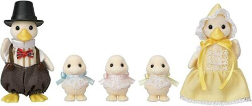 Epoch Calico Critters Sylvanian Families DUCK FAMILY C-64 Japan F/S