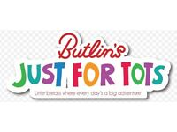 Butlins Bognor Break! 4 Nights 30/10/17 Just For Tots. Mr Tumble & Teletubbies. For up to 4 People!