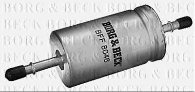 BORG & BECK FUEL FILTER FOR FORD FOCUS PETROL ENGINE 1.6 74KW