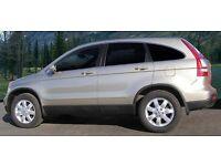 Honda CRV 2007 ES i - CDTI Silver SUV, Station wagon , jeep