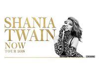 Shania Twain Now Tour 2018 x2 tickets Friday 21st September
