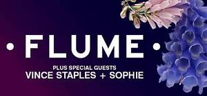 FLUME GA HARD COPY - SELLING ONE TICKET Dee Why Manly Area Preview