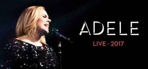 ADELE TICKETS SEATS FOR 2 Maroubra Eastern Suburbs Preview