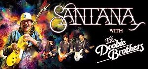 Santana & Doobie Brothers Perth Concert Tickets x 2-SILVER Belmont Belmont Area Preview