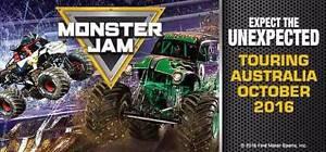 Monster Jam x4 ADULT B Reserve Ticket Pasadena Mitcham Area Preview