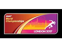 2 x London 2017 World Athletics Championships