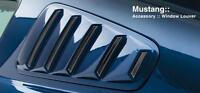 Mustang 2005-2009 3D Carbon 1/4 Window Louvers NEW