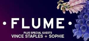 Flume Tickets x2 | Seated 3rd Elevation | Sydney | Fri, 9th Dec Meadowbank Ryde Area Preview
