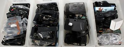 MINOLTA POINT AND SHOOT CAMERA PARTS LARGE LOT