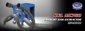MC750 EXHAUST GAS EXTRACTOR - BEST PRICE IN CANADA Kitchener / Waterloo Kitchener Area image 1