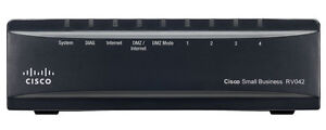 Cisco RV042 4-port 10/100 VPN Router with Dual WAN