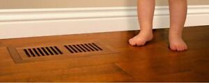 Exotic Wood Accessories: Vent, Register, Reducer, and Nosing