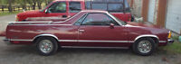 1980 Chevrolet El Camino low km car in No reserve online auction