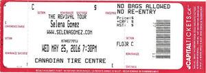"""Selena Gomez """"The Revival Tour"""""""