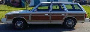 1986 Chrysler Lebaron Town & Country Wagon Prince George British Columbia image 1