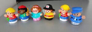 Lot de 6 figurines de Little Peoples de Fisher Price