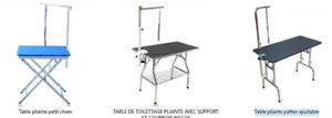 Table pliante de toilettage profeesionnel