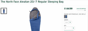 The North Face Aleutian 20/-7 Regular Sleeping Bag