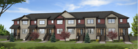 Radiance Condos and Townhomes in Eaux Claires (North Edmonton)