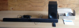 Samsung Wireless Audio Sound Bar And Sub Woofer