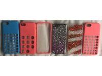 6x iPhone 5C cases