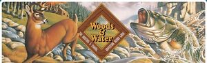 Collectible 1995 Woods and Water BoardGame