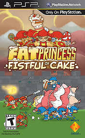 fat princess fistful of cake, PSP