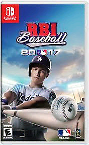 RBI baseball 2017 for switch and other games