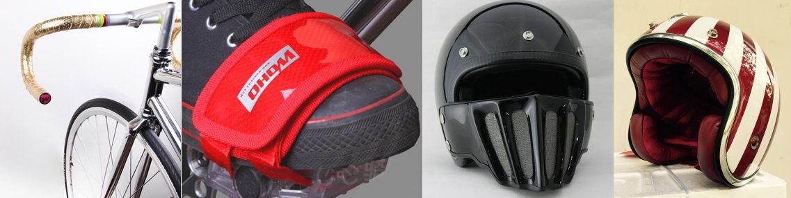 Motorcycle Helmet & Night Light