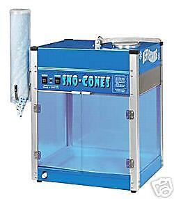 Paragon Blizzard Sno Snow Cone Machine Maker 6133210
