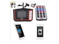 LCD Car MP3 Player Wireless FM Transmitter