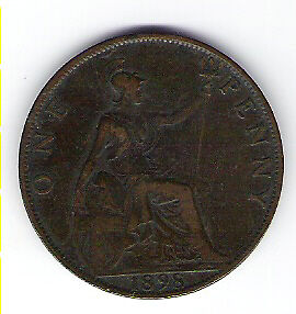 Coin 1898 Great Britain 1 Cent Penny Kingston Kingston Area image 2