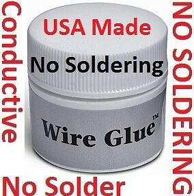 Solar-Panels-Cells-NO-Solder-Soldering-iron-gun-Wire-Glue-Electrical