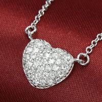 Austrian Crystal Silver Pendant