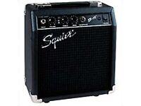 10 watt Squier (by Fender) Practice Amp for sale